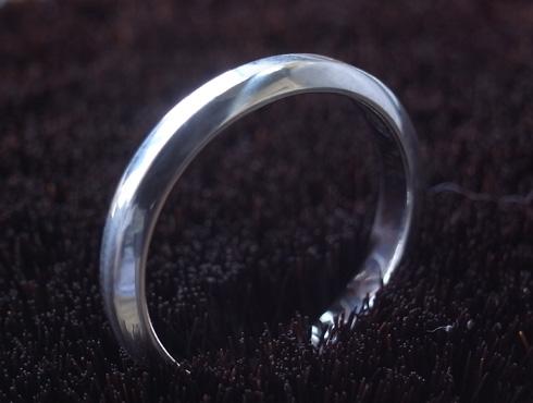 外れなくなったカルティエの結婚指輪 切断とサイズ伸ばし 11