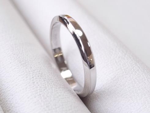 外れなくなったカルティエの結婚指輪 切断とサイズ伸ばし 14